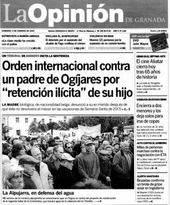 LA OPINIÓN DE GRANADA